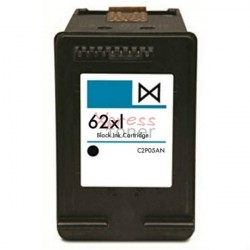 HP nº62XLBK - Tinteiro Genérico