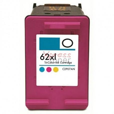 HP nº62XLC - Tinteiro Genérico