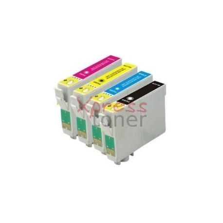 Epson T163x - Pack de 4 Tinteiros Genéricos