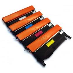 Samsung CLP360 - Pack de 4 Toners Genéricos