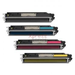 HP nº126A - Pack de 4 Toners Genéricos