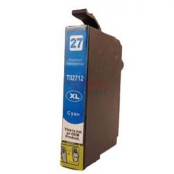 Epson T2712 - Tinteiro Genérico Cor-Ciano