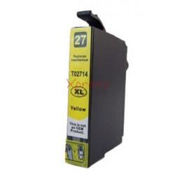 Epson T2714 - Tinteiro Genérico Cor-Amarelo
