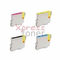 Epson T055x - Pack de 4 Tinteiros Genéricos