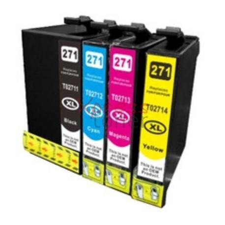 Epson T271x - Pack de 4 Tinteiros Genéricos