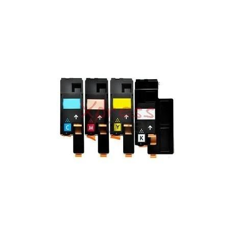 Epson C1700 - Pack de 4 Toners Genéricos